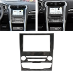 Car Carbon Fiber Central Control Panel Decorative Sticker for Ford New Mondeo