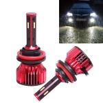 2 PCS T10 H8 / H9 / H11 DC9-36V / 28W / 6500K / 2400LM IP67 Car LED Headlight Lamps (White Light)