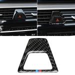 Car Tricolor Carbon Fiber Warning Light Decorative Sticker for BMW 5 Series G38 528Li / 530Li / 540Li 2018