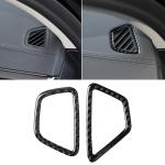 Car Carbon Fiber Instrument Air Vent Frame Decorative Sticker for BMW 5 Series G38 528Li / 530Li / 540Li 2018