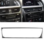 Car Carbon Fiber Air Conditioning Air Outlet Frame Decorative Sticker for Audi A4 B8 2009-2016 / A5 2008-2017 / Q5 2009-2017