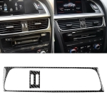2 in 1 Car Carbon Fiber Air Conditioning Air Outlet Frame Decorative Sticker for Audi A4 B8 2009-2016 / A5 2008-2017 / Q5 2009-2017