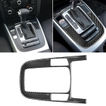 Car Carbon Fiber Gear Position Panel Decorative Sticker for Audi 2010-2018 Q5 / 2009-2016 A4L / 2009-2016 A5