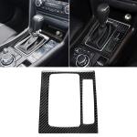 Car Carbon Fiber Right Drive Gear Frame B Decorative Sticker for Mazda Axela 2017-2018