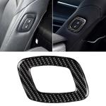 Car Carbon Fiber Seat Adjustment Decorative Sticker for Toyota Eighth Generation Camry 2018-2019