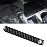 Car Carbon Fiber Storage Box Groove Decorative Sticker for Toyota Eighth Generation Camry 2018-2019