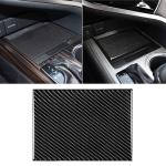 Car Carbon Fiber Storage Box Decorative Sticker for Toyota Eighth Generation Camry 2018-2019