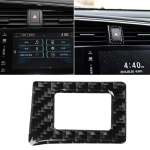 Car Carbon Fiber Double Flash Frame Decorative Sticker for Honda Tenth Generation Civic 2016-2019