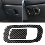 Car Carbon Fiber Storage Box Switch Decorative Sticker for Honda Tenth Generation Civic 2016-2019