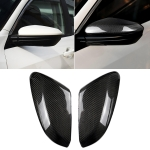 2 PCS Car Carbon Fiber Rearview Mirror Shells Side Wing Mirror Cover Cap for Honda Tenth Generation Civic 2016-2018