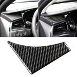 Car Carbon Fiber Main Driving Triangle Decorative Sticker for Cadillac XT5 2016-2017