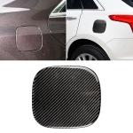 Car Carbon Fiber Fuel Tank Cap Decorative Sticker for Cadillac XT5 2016-2017