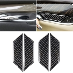 Car Carbon Fiber Door Inner Wrist Decorative Sticker for Cadillac XT5 2016-2017