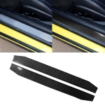 2 PCS Car Carbon Fiber Welcome Pedal Decorative Sticker for Chevrolet Camaro 2017-2019