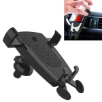 Car Air Outlet Mobile Phone Automatic Lock Holder Bracket (Black)