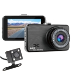 SE021 3 inch 170 Degrees Wide Angle Full HD 1080P Dual Lens Video Car DVR, Support TF Card / Loop Recording / G-sensor