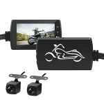 SE500 3 inch Full HD 1080P Video Motorcycle DVR, Support TF Card / Loop Recording / G-sensor