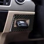 RRX CARBON Carbon Fiber Car Right Driving Ignition Switch Decorative Sticker for BMW E90 / E95 2005-2012