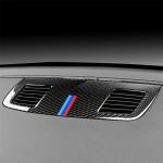 Three Color Carbon Fiber Car Instrument Large Outlet Decorative Sticker for BMW E90 2005-2012