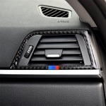 Three Color Carbon Fiber Car Copilot Air Outlet Decorative Sticker for BMW (F30) 2013-2015 / (F34) 2013-2016