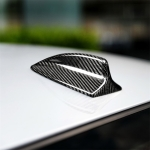C Version Carbon Fiber Car Antenna Cover Decorative Sticker for BMW E46 / E60 / E90 / E92