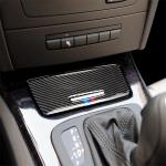 Three Color Carbon Fiber Car Ashtray Decorative Sticker for BMW E90 / E92 / E93 (2005-2012)
