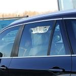 Carbon Fiber Car B Column Frame Decorative Sticker for BMW 5 Series F10 2011-2017