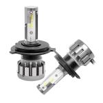 2 PCS Ballast A10 H4 DC9-36V / 13W / 1500LM / 6000K IP68 Car / Motorcycles LED Headlight Lamps / Fog Light