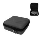 Sunnylife DJI-LM54 Portable Diamond Texture PU Leather Storage Bag for DJI Osmo Mobile 3,  Size: 19.5cm x 18.5cm x 7.7cm