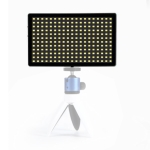 Litu Foto  L28 Pocket 228 LEDs Professional Vlogging Photography Video & Photo Studio Light for Canon / Nikon DSLR Cameras (Black)