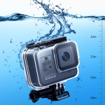 RUIGPRO for GoPro HERO8 45m Waterproof Housing Protective Case with Buckle Basic Mount & Screw(Transparent)