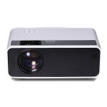 AUN  D60S 4 inch 2800 Lumens 1280×720 Portable HD LED Projector with Remote Control,Android 6.0, Support USB / SD Card / Audio / VGA / HDMI