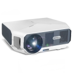 AUN ET01 4 inch 3800 Lumens 1280x720P Portable HD LED Projector with Remote Control, Support USBx2 / VGA / HDMI / 3.5mm Audio