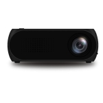 YG320 320*240 Mini LED Projector Home Theater, Support HDMI & AV & SD & USB (Black)