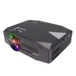 BLJ-333 1920×1080 2000 Lumens LCD Portable Home Theater Mini Projector, Support HDMI / SD / USB / AV / VGA (Black)