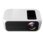 T500 1920×1080 3000LM Mini LED Projector Home Theater, Support HDMI & AV & VGA & USB & TF, Standard Version (White)