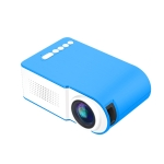 YG210 320×240 400-600LM Mini LED Projector Home Theater, Support HDMI & AV & SD & USB, Battery Version (Blue)
