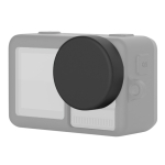 Silicone Protective Lens Cover for DJI Osmo Action (Black)