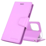 For iPhone XI Max 2019 MERCURY GOOSPERY SONATA DIARY Horizontal Flip Leather Case with Holder & Card Slots & Wallet(Purple)
