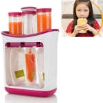 Multi-function Home Kitchen Manual Baby Food Storage Bag Dispenser Children Puree Squeezer