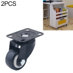 2 PCS 2 inch Furniture Cabinet Coffee Table Silent Universal Wheel