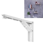 12 inch Wall-mounted Foldable Spring Storage Shelf for Dining Table
