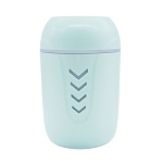 5W USB Household Mute Desktop Air Humidifier with Colorful Atmosphere Lights, Capacity: 200mL (Blue)