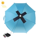 HAWEEL 28W Foldable Umbrella Top Solar Panel Charger with 5V 3A Max Dual USB Ports, Support QC3.0 / FCP / SCP/ AFC / SFCP Protocol (Black)