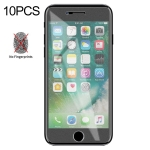 10 PCS Non-Full Matte Frosted Tempered Glass Film for iPhone 7 / 8