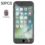 50 PCS Non-Full Matte Frosted Tempered Glass Film for iPhone 7 / 8