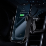 Baseus Multi-function Car Mobile Phone Holder Wireless Charger (Black)