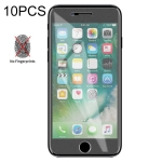 10 PCS Non-Full Matte Frosted Tempered Glass Film for iPhone 7 Plus / 8 Plus