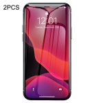 2 PCS Baseus 0.3mm 9H Tempered Glass Film for iPhone XI 2019