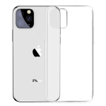 For iPhone 11 Pro Max Baseus Simple Series Transparent TPU Case(Transparent)